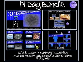 Pi and Pi Day Bundle