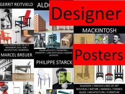 GCSE DT - (AQA) Designer Posters