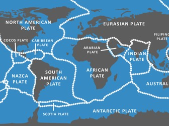 Plate tectonics GCSE Geography New Spec