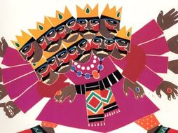 BIG WRITE: A Monster In The Woods - Linked to the story of Rama and Sita - Diwali