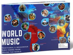 World Music Map - INFOGRAPHIC + MUSIC EXAMPLES