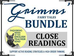 Grimms' Fairy Tales: Close Reading Bundle