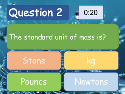 Quiz Template | Science Quiz Template Sample Questions Auto Timed Easy To Change