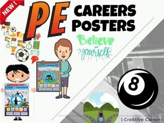 PE + Sport Careers Posters