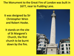 Great Fire of London - KS1 - How did London change after the Great Fire?