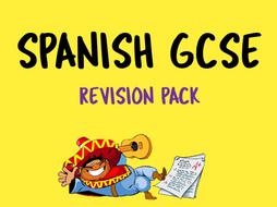 Spanish GCSE Revision Pack