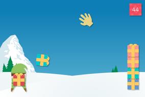 Gift Catcher Interactive Game - Christmas KS2