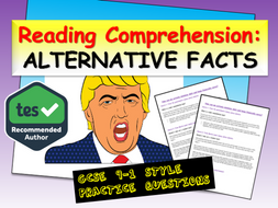Alternative Facts - Reading Comprehension