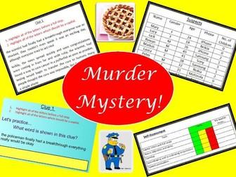 SPAG Murder Mystery!