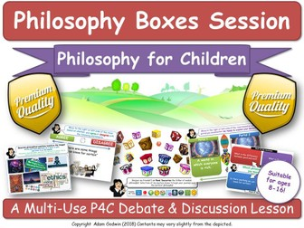 "KS1-3 Philosophy (P4C) ""Epistemology & The Nature of Knowledge"" [Philosophy Boxes]"