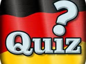 German Christmas Quiz 2017