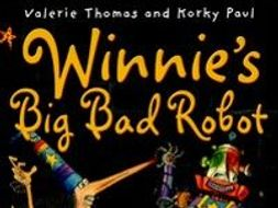KS1 Whole Class Reading Unit of Work - Winnie's Big Bad Robot