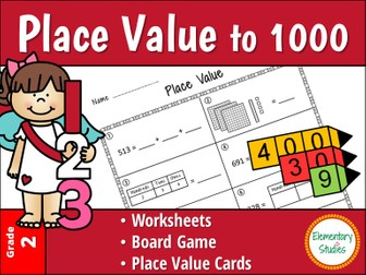 Place Value to 1000 - Bundle Pack