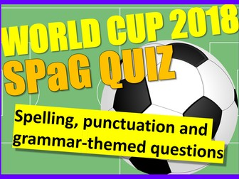 World Cup 2018: World Cup Literacy Quiz