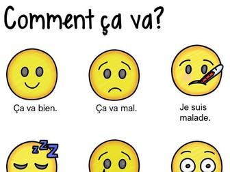 French Bundle: Saying how you feel
