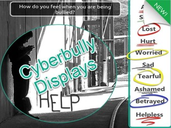 Cyberbullying Displays Children will relate to (7 Pages) From 9 years old