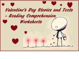 Valentine's Day Bundle x 7 Reading Comprehension Worksheets (69% OFF)
