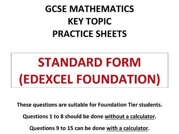 Standard Form In Maths Ordekeenfixenergy