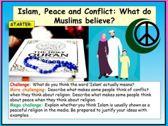 Islam Peace and Conflict