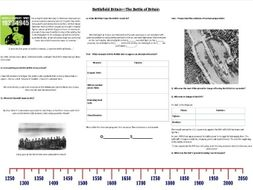 Battlefield Britain :The Battle of Britain - Supporting Worksheet for the BBC Documentary