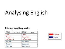 Analysing English