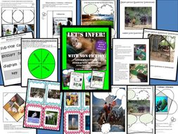 Let's Infer with Non Fiction Interactive Reading Comprehension Activities