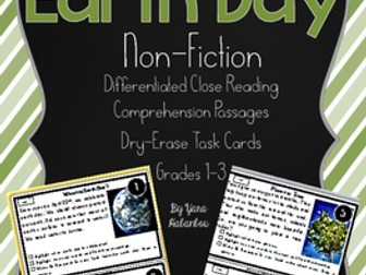 Earth Day Nonfiction Reading Passages