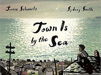 Town Is by the Sea Reading with RIC Comprehension Questions KS2 Full Picture Book Joanne Schwartz