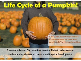 Halloween: Pumpkin Life Cycle Resource Pack