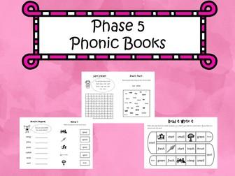 Phase 5 Phonic Books