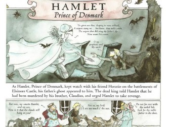 Hamlet by Marcia Williams Comprehension KS2