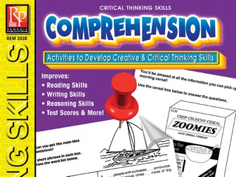 Comprehension: Critical Thinking Skills