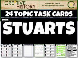 The Stuarts Task Cards