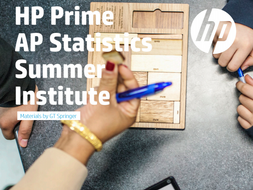 HP Prime AP Statistics Summer Institute Materials