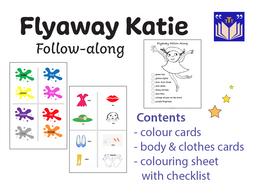 Flyaway Katie follow-along