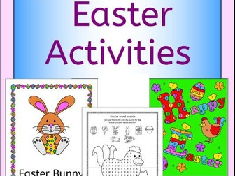 Easter Activities and Puzzles