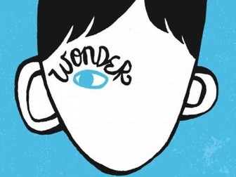 Wonder by RJ Palacio: Whole-class reading unit (or guided reading plan)