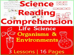 Organisms & Environments - Life Science Reading Passages - Grade 3-4