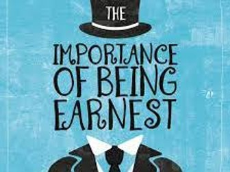 """""""The Importance of Being Earnest"""" (Oscar Wilde) - Reading Log & Questions"""