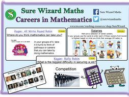 Careers in Mathematics Lesson