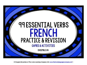FRENCH VERBS PRACTICE & REVISION 99 VERBS (1)