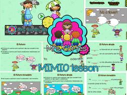 El futuro con verbos regulares en español MIMIO