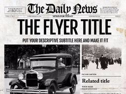 Photoshop Newspaper Template by ted8 - Teaching Resources - Tes