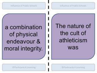 A Level PE: Public Schools Dominoes