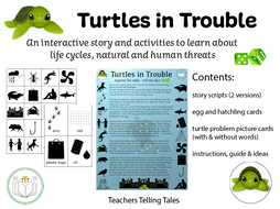 Turtles in Trouble! An interactive story