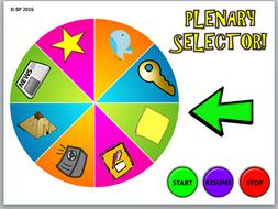 Plenary, lesson review & AfL