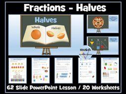 Fractions - Halves