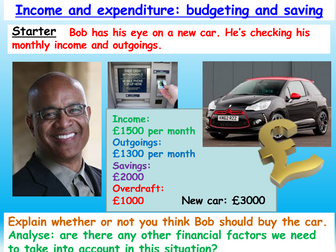 Finance / Careers: Budgeting