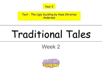 Year 2 - This presentation includes 5 whole lessons relating to Traditional Tales (Week 2 of 3)