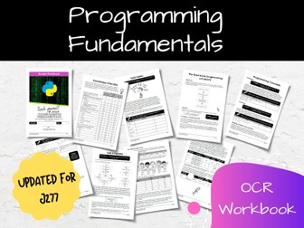 Programming Fundamentals OCR GCSE Computer Science Workbook (J277)